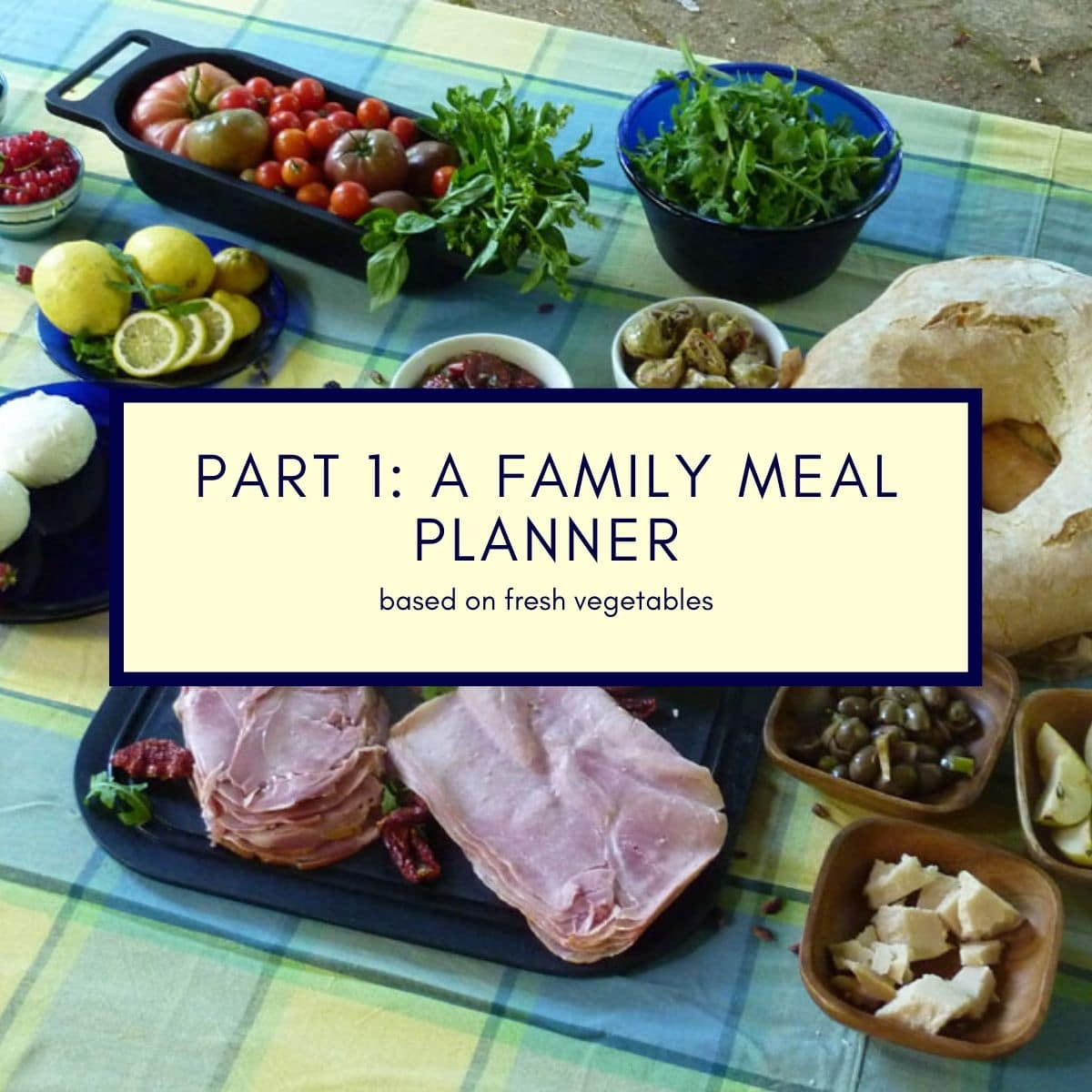 A Family Meal Planner