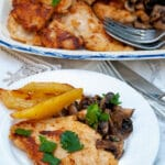 A creamy chicken Marsala is easy to make and does not requirecream as the Marsala makes a perfect creamy sauce full of flavour. I serve it with mushrooms and baked potatoes.#yourguardianchef #chickenfoodrecipes #marsala