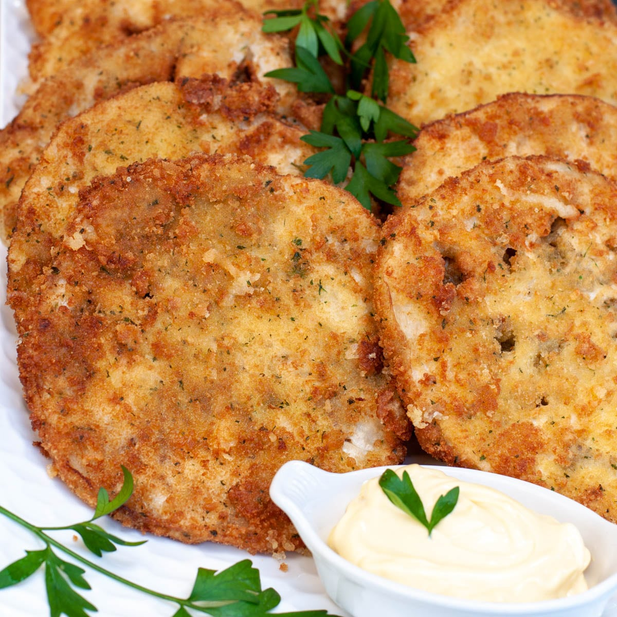 Vegetarian Eggplant Milanese - Your Guardian Chef