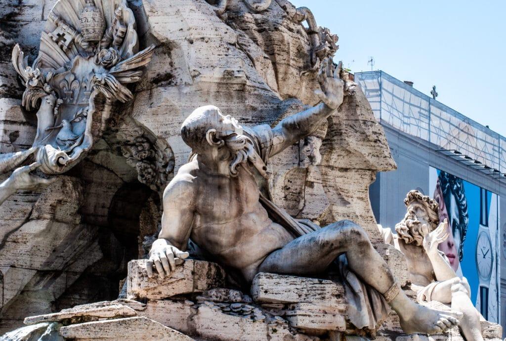 Bernini statue piazza Navona