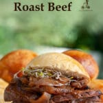 Homemade roast beef is such an easy dish to make, and you can choose how well cooked you want the meat. Whether you like it well done, medium rare, or rare, with the help of a cooking thermometer, you can get it just right every time.