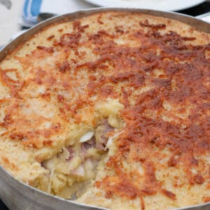 Italian Mashed Potato Pie Gateau