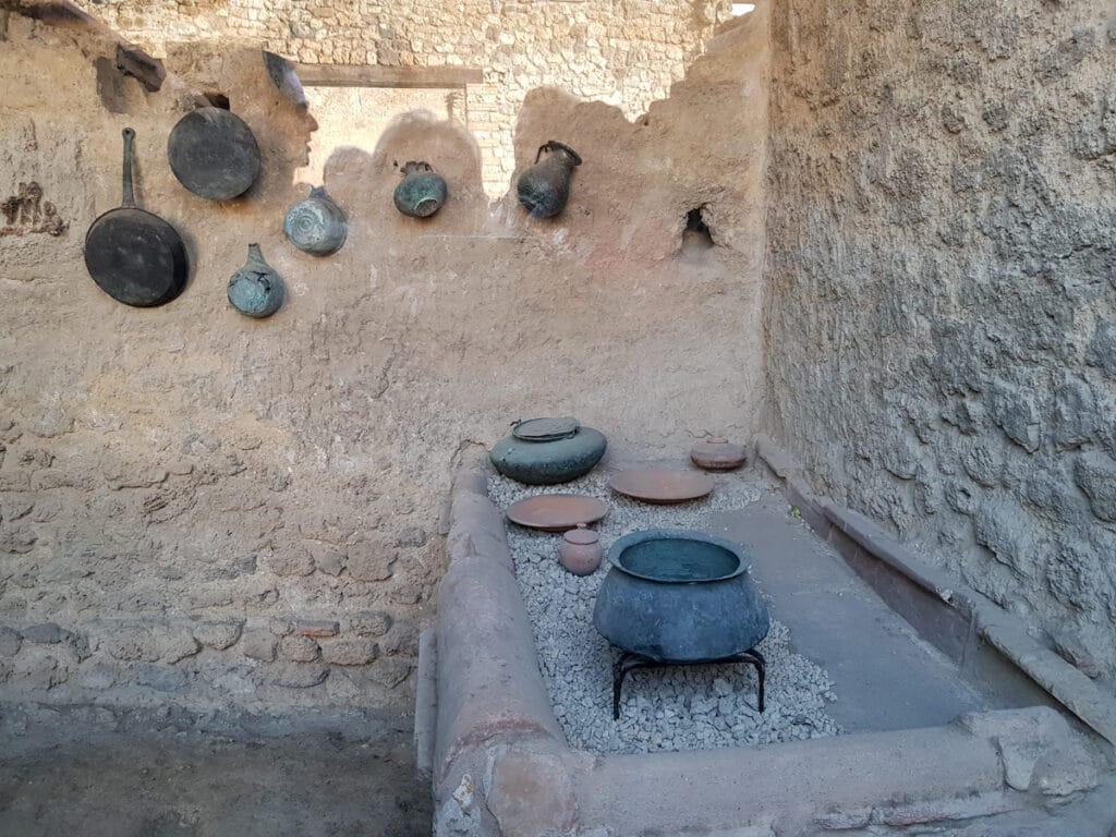 kitchen from Pompeii ruins