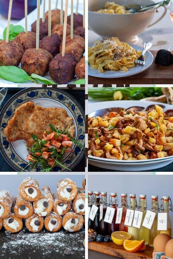 Italian Sunday dinner photo collection