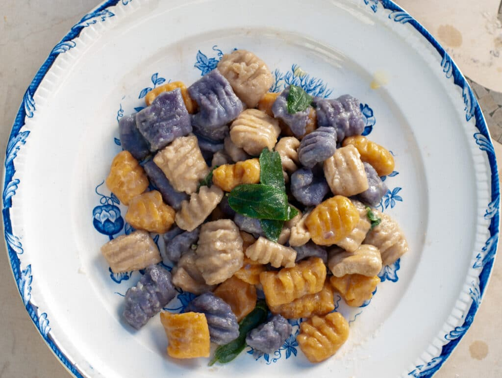 rainbow vegan gnocchi recipes