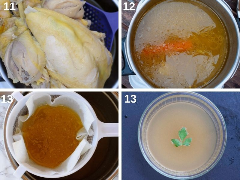 step by step filter the stock