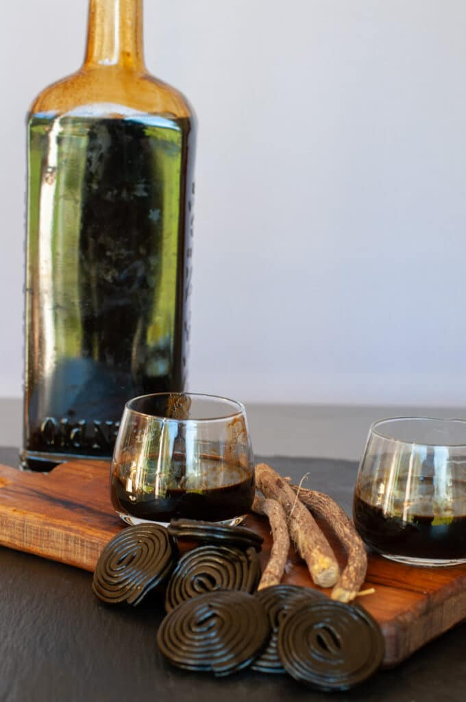 homemade Italian licorice liqueur
