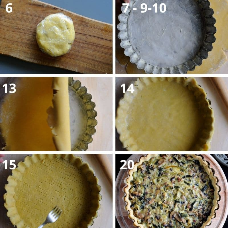 photo direction for making the best pastry dough