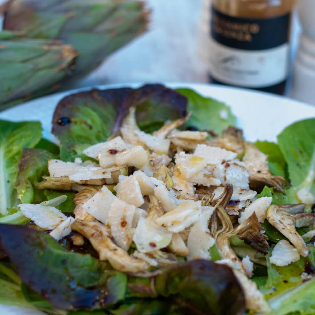 Italian artichoke salad