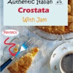 This Italian Crostata recipe is a sweet shortcrust pastry pie filled with fresh fruits or jam. It is easy to make and store. It is often eaten at breakfast, as a snack, or served at the end of an informal meal as a dessert. In Italy, you can buy it in most bakeries and pastry shops.