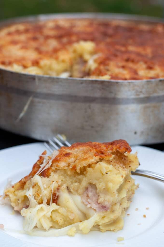 Italian mashed potato pie