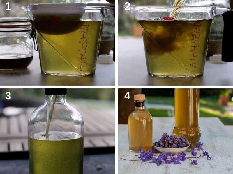 making the liqueur