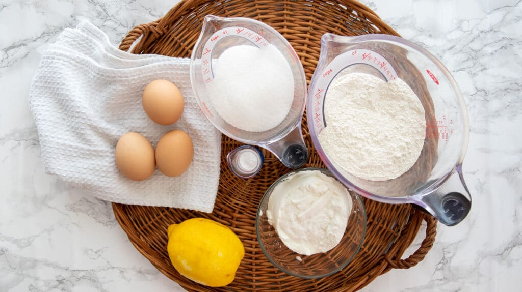 Ricotta cake ingredients